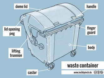 0258 waste container