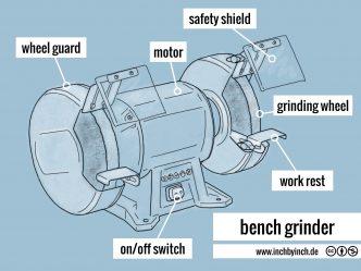 0294 bench grinder